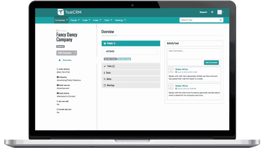 Eligeo CRM in the news: One big thing Corby did to improve its sales process
